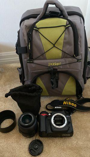 Nikon D7000 SLR Digital Camera with Lens and camera bag for Sale in New Smyrna Beach, FL