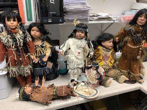Porcelain Indian dolls for Sale in Hayward, CA