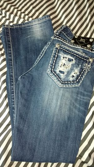 Miss me women's girls jeans size 26 boot new without tags for Sale in Everett, WA