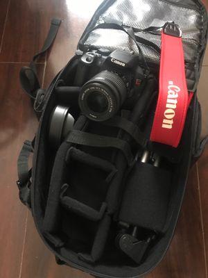Canon EOS Rebel T5i w/ accessories for Sale in Atlanta, GA