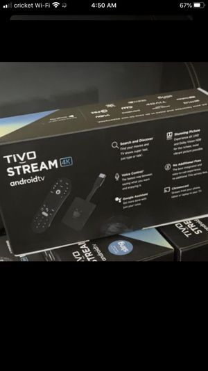 TiVo Stream aka AndroidTv HD 4K for Sale in Chandler, AZ