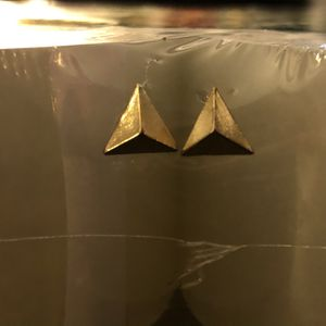 Gold Triangle Earrings for Sale in Lodi, CA