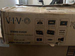 Vivo Dual monitor desk mount for Sale in Fontana, CA