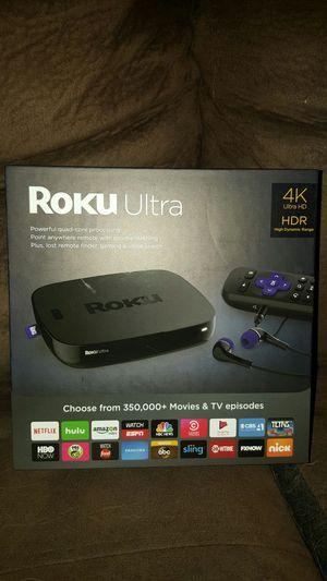 Roku Ultra!!! New in box!! for Sale in Chesapeake, VA