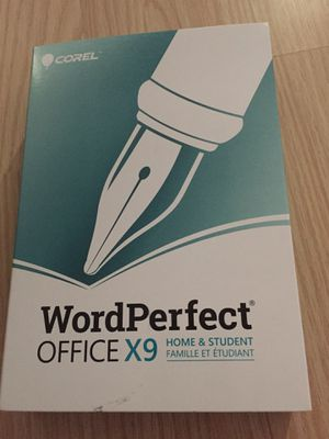 Word perfect office x9 software dvd for Sale in Hollywood, FL