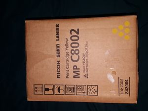 Ricoh print cartridge (yellow) for Sale in Centreville, VA