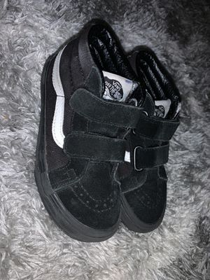 Black high top - Velcro van ( kids 11.5) for Sale in San Jose, CA