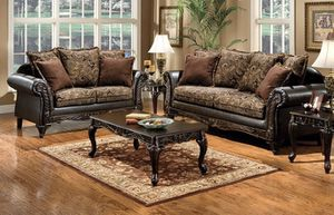 (JUST $54 DOWN ) Brand New Beautiful Sofa and Love Seat Set (Financing and Delivery available) for Sale in Carrollton, TX