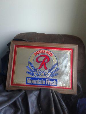 Rainier Beer mirror for Sale in Lynnwood, WA