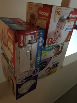 Diaper Bundle size 1-2 for Sale in Houston, TX