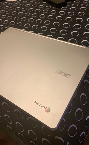 Chrome acer touch screen computer for Sale in Lake Ozark, MO