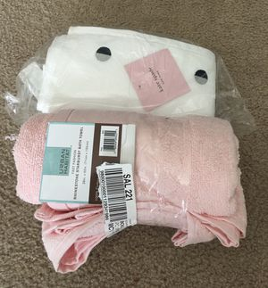 *New* Kate Spade Hand Towel and Pink Sunburst Hand Towel for Sale in Palmdale, CA