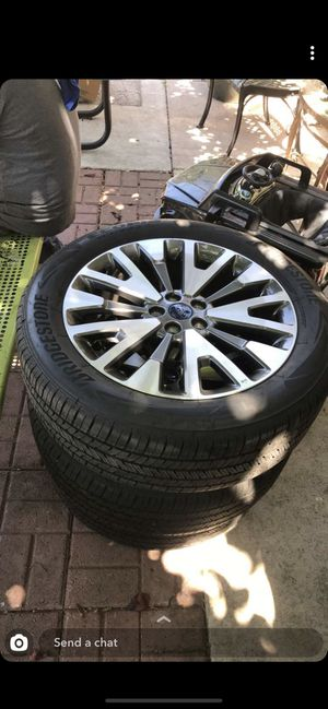 Ford rims n tires for Sale in Oakland, CA