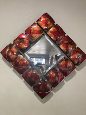 Decorative wall hanging with mirror for Sale in Mill Creek, WA