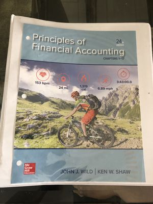Principles of Financial Accounting 24th edition for Sale in Patterson, CA
