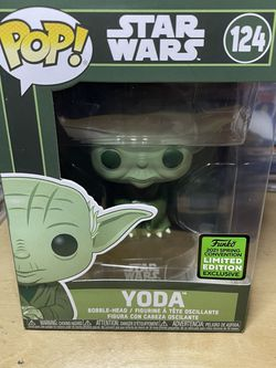 Funko Pop 2021 Spring Convention Limited Edition Exclusive Yoda for Sale in Pomona,  CA