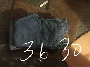 BUNDLE men's 36 30 work jeans for Sale in Sacramento, CA