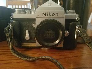 Nikon F slr camera for Sale in Mulberry, FL