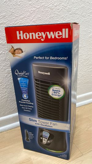 Slim and small tower fan for Sale in South El Monte, CA