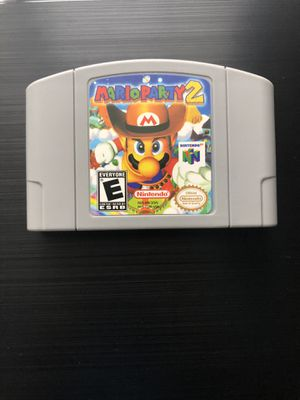 Mario Party 2 (Nintendo 64, 1999) N64 - Tested, Working, Great Gift! (Read) for Sale in Hollywood, FL