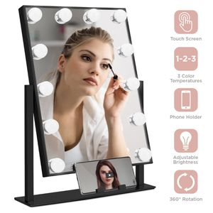 🔥Touch Tone Makeup Vanity Mirror With Phone Holder w/ 12 LED Lights for Sale in Los Angeles, CA