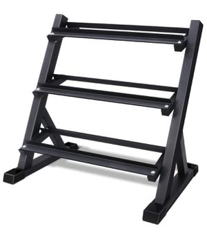 kyen 3 Tier Dumbbell Rack Stand Only for Home Gym, Weight Rack for Dumbbells (900 Pounds Weight Capacity, 2020 Version) for Sale in San Francisco, CA