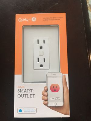 Smart light switch and outlets and window sensor for Sale in Miami, FL
