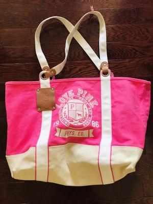 Pink beach bag for Sale in Reston, VA
