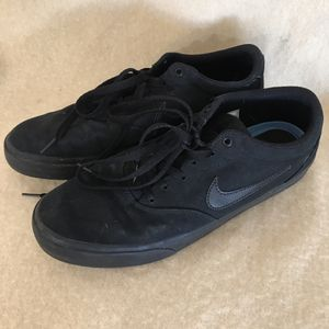 Nike CD6279-001 SB Charge Black Canvas Shoes Men's Size 11.5 for Sale in Anchorage, AK