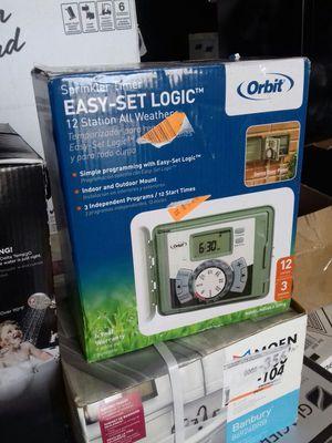 Orbit sprinkler timer easy-set logic 12 station all weather for Sale in Phoenix, AZ