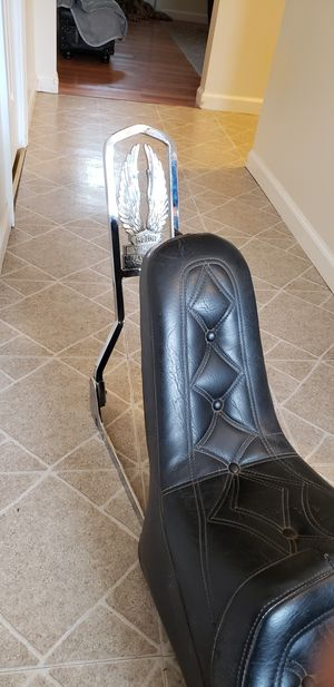 Mustang Yamaha motorcycle seat for Sale in Streamwood, IL