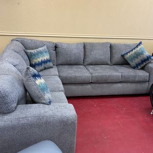 Sectional Furniture empire $39 down paymentOpen 7 days a week 9:30-8pm Finance available 1486 West Buckingham Rd. garland TX 75042 for Sale in Garland, TX