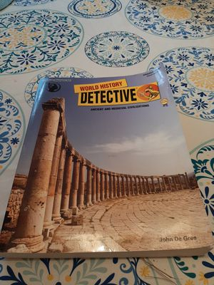 The Critical Thinking Co. World History Detective for Sale in Orange, VA