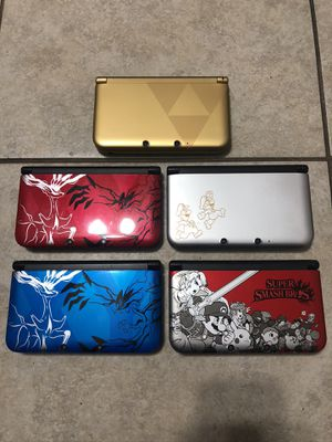Nintendo 3ds xl special editions for Sale in Fontana, CA