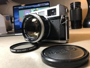 Canon 7 35mm Rangefinder Film Camera with 50mm M39 f/1.2 Lens for Sale in Syracuse, NY