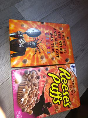 Travis Scott cereal for Sale in Hingham, MA