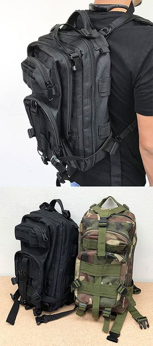 NEW $15 Tactical Backpack 30L for Sale in Downey, CA