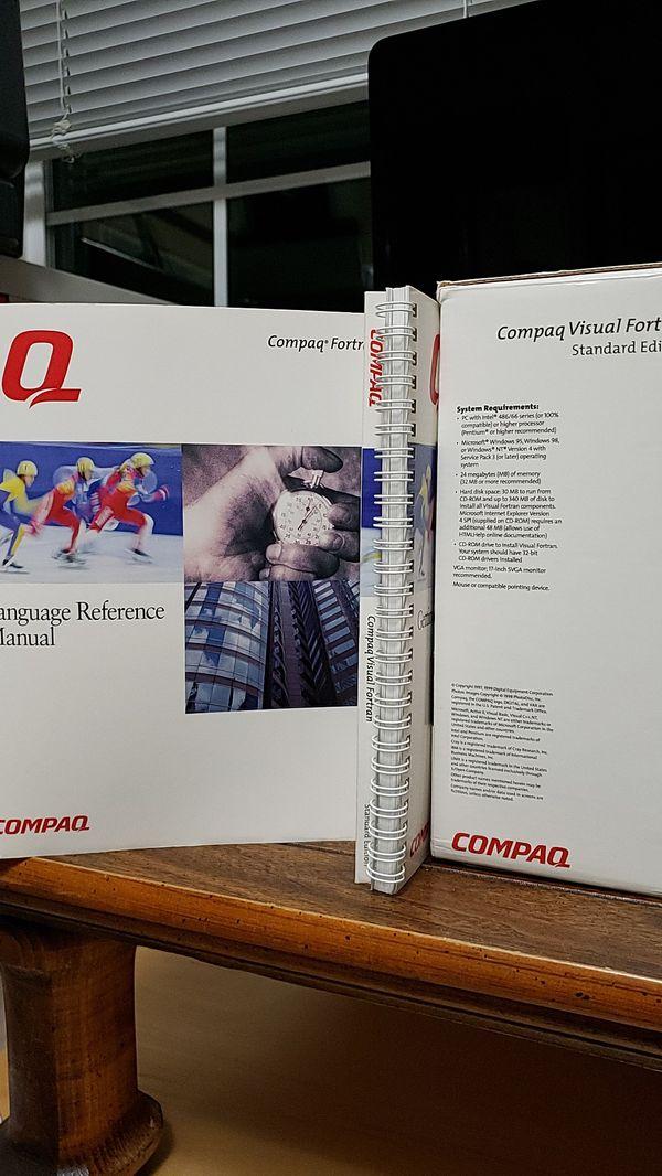 WIN 95/98/NT Compaq Visual FORTRAN Developer Kit