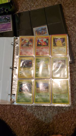 Pokemon Card Collection WOTC for Sale in Edgewood, WA