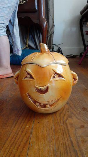 Jack o lantern cookie jar for Sale in Staunton, VA