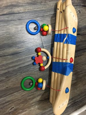 Haba, baby gym toy for tummy time (disassembled) for Sale in Vienna, VA