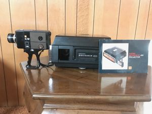 Kodak Super 8 Movie Projector and gaf sc / 102 super 8 Movie Camera for Sale in Fairfield, CT
