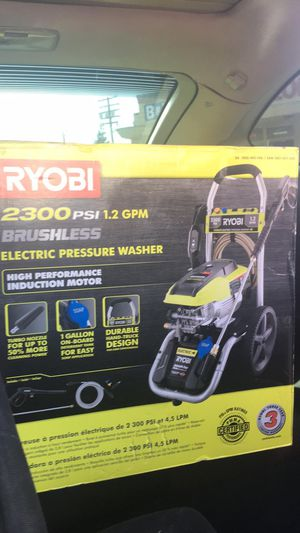 Pressure washer and cordless blower for Sale in Modesto, CA