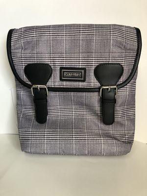 Calvin Klein Belfast Black White Plaid Nylon Crossbody Messenger Bag for Sale in Fort Lauderdale, FL
