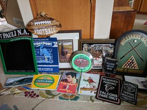 Beer, Pool, Football Mancave Signs for Sale in Gresham, OR