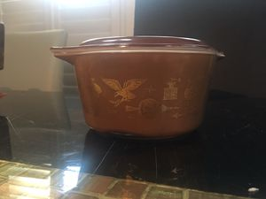 3 Piece Pyrex set early American design from 1962 vintage for Sale in San Antonio, TX