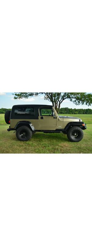 ReadyRoad2005 Jeep Wrangler TJ UnlimitedPerfectShape for Sale in Annapolis, MD