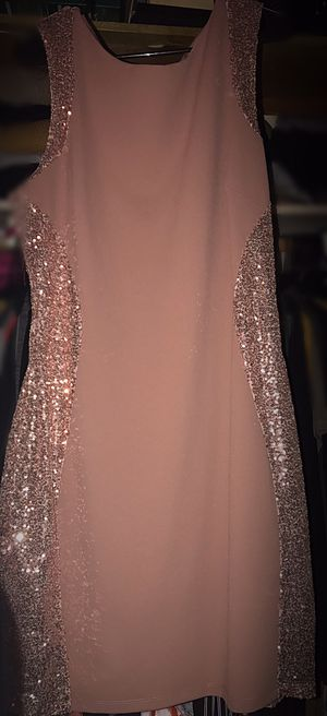 Beautiful Pink /Nude Sequins dress for Sale in Huntington Park, CA