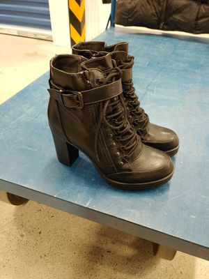 Women's leather high heel boots by guess size 6 for Sale in Bremerton, WA