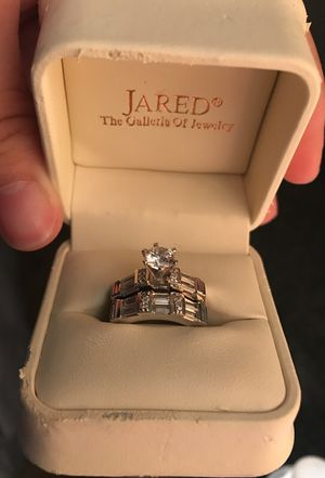 Jared engagement ring and band never worn for Sale in Chino, CA